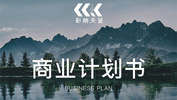 彩纳天呈 商业计划书