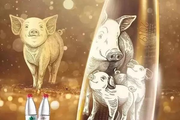 農夫山泉的豬年限定款,堪稱一股清流!