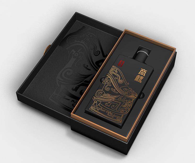 商觥酱香型白酒包装设计