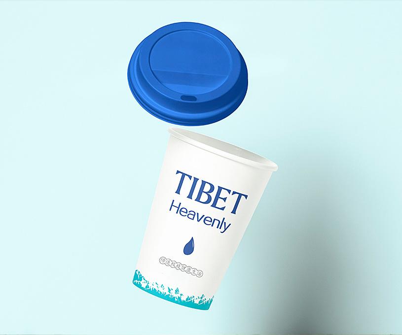 雪域牧品牛奶品牌设计