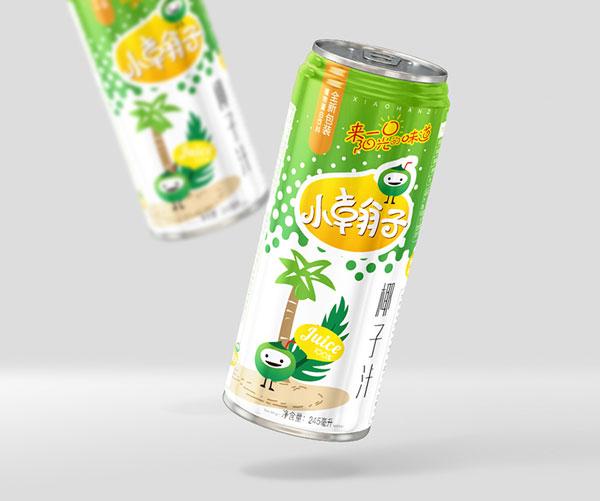 小翰子椰汁包装设计