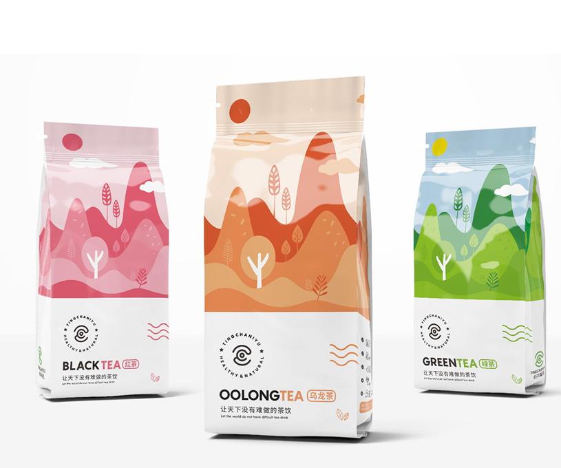 听茶呢语品牌包装形象设计