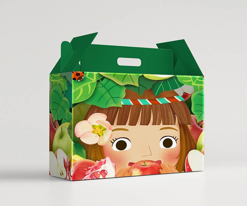 西域香妃水果品牌包装设计