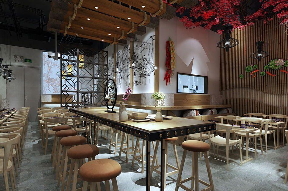 中国风餐厅SI设计可以运用那些元素?