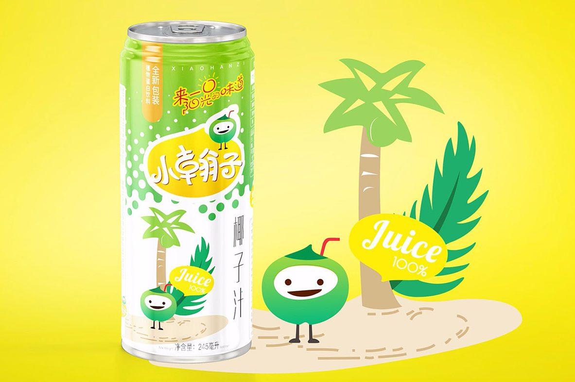 夏日饮料包装如何设计?