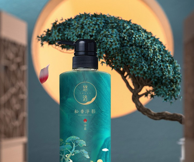 包装 | 悠浴日化国风品牌包装策划设计