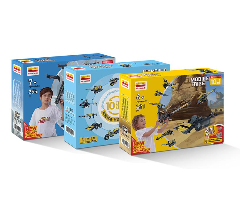 包装 | 几何乐园玩具品牌包装设计