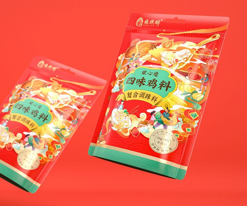 包装 | 娘炊烟品牌调味料包装设计