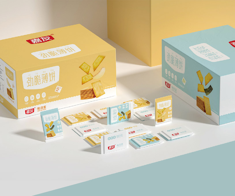 包装 | 嘉友饼干品牌策略包装设计